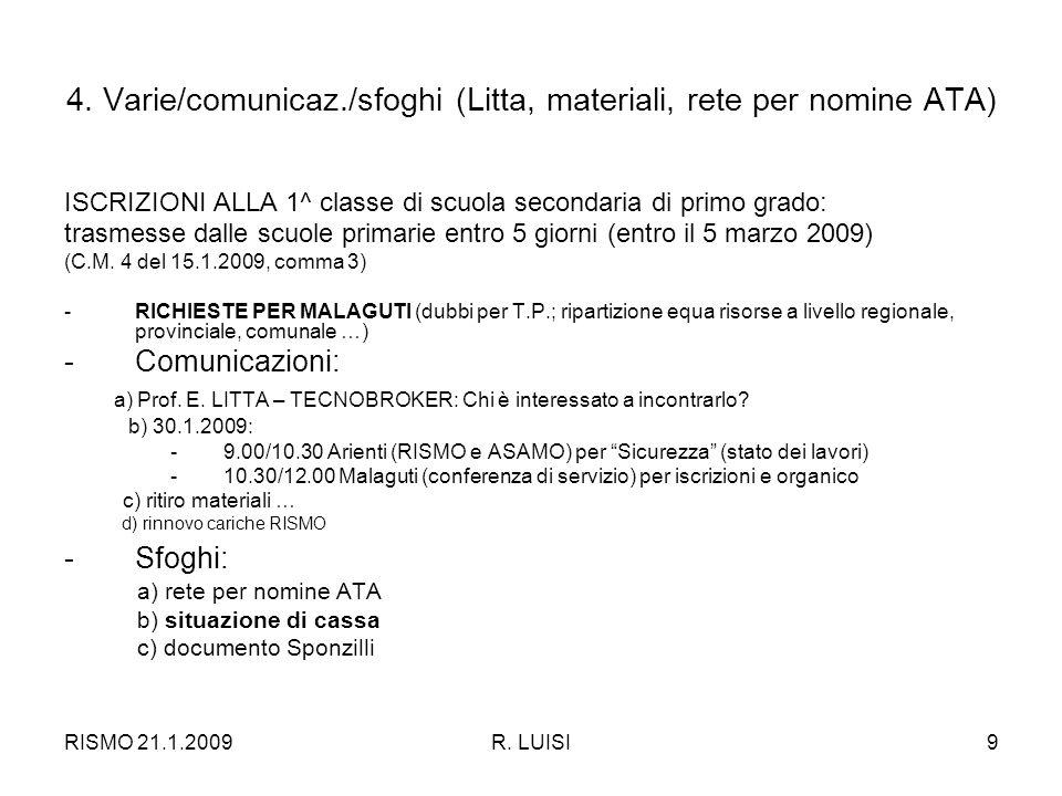 RISMO 21.1.2009R.LUISI9 4.