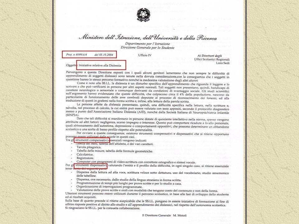 Adriana Volpato DISPENSARE dalluso del VOCABOLARIO Prot.