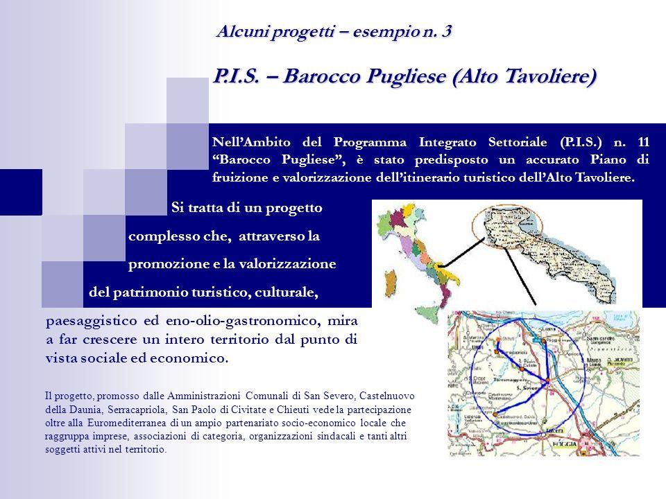P.I.S. – Barocco Pugliese (Alto Tavoliere) NellAmbito del Programma Integrato Settoriale (P.I.S.) n. 11 Barocco Pugliese, è stato predisposto un accur