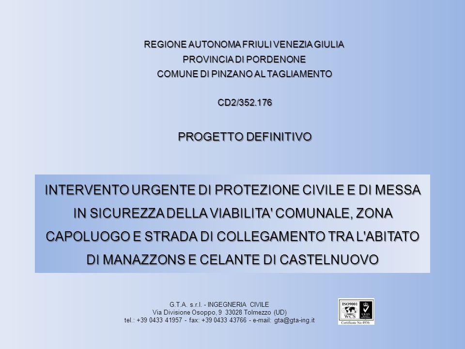 INTERVENTO N°2 PARTICOLARI RETE PARAMASSI