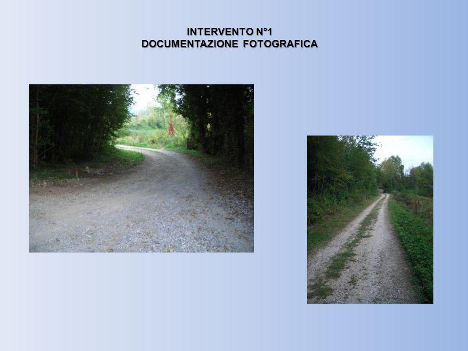 INTERVENTO N°3 DOCUMENTAZIONE FOTOGRAFICA