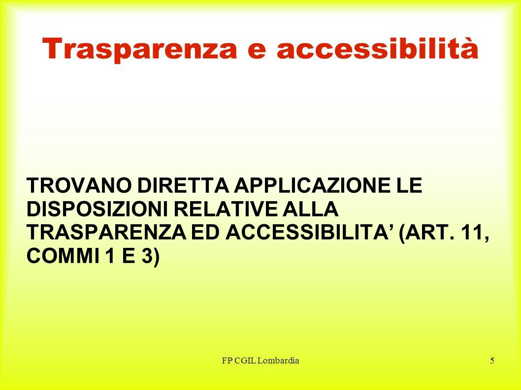 FP CGIL Lombardia6 Adeguamento ordinamenti ENTRO IL 31/12/2010 VANNO ADEGUATI GLI ORDINAMENTI A: PRINCIPI GENERALI (ART.