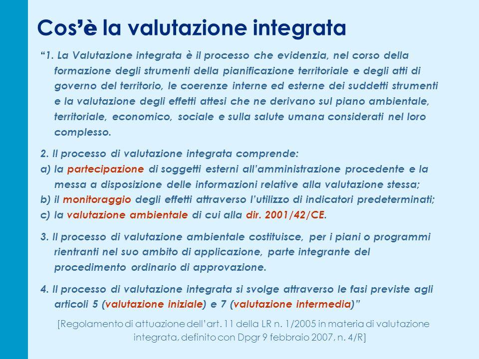 La procedura di valutazione (4) TempiFase proceduraleElaborati necessari T5: almeno 30 giorni da T4 Forum plenario di conclusione della procedura di valutazione Relazione di sintesi, ai sensi dellart.