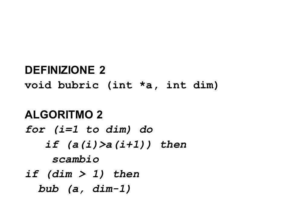 Strutture Dati 1/4 #include main() { int i,j,num,ins; struct dato { int va; struct dato *succ; }; struct dato *testa, *scorri, *crea; i=1; printf( Quanti valori di esempio .