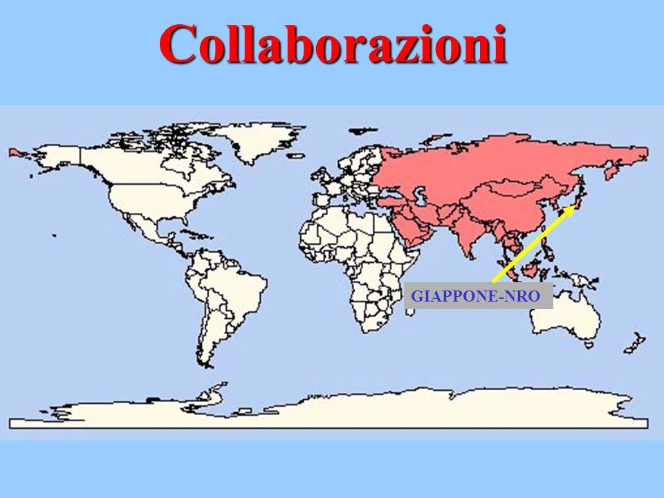 Collaborazioni GIAPPONE-NRO