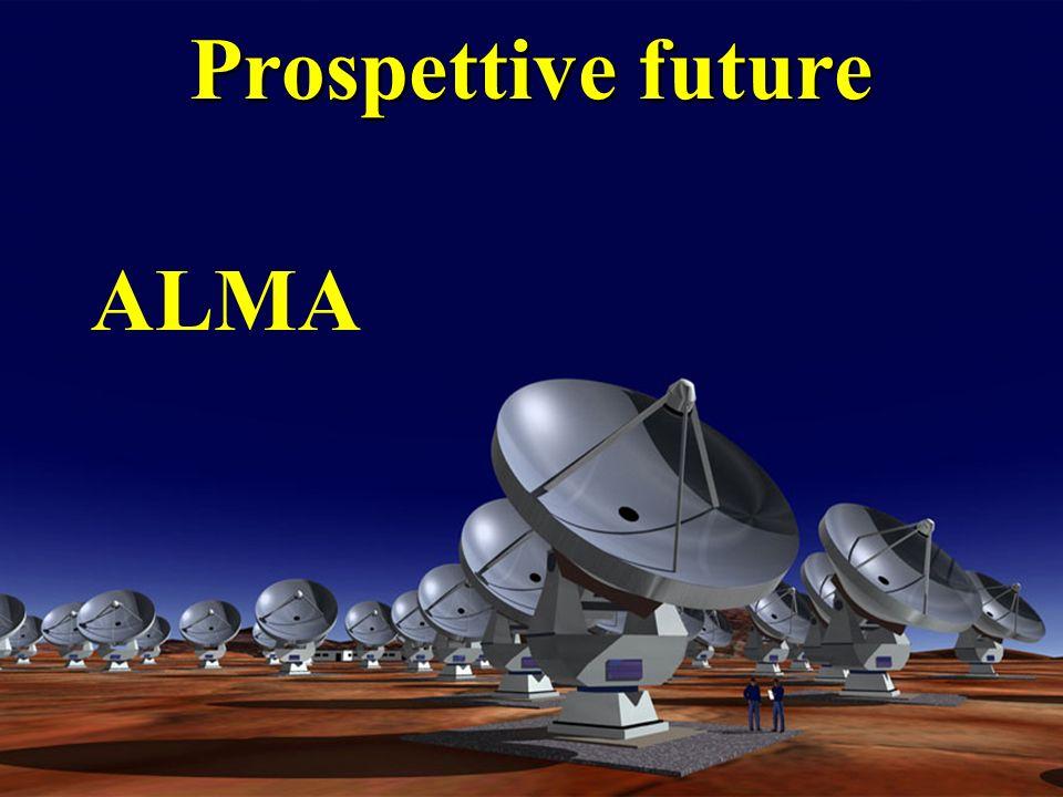 Prospettive future ALMA