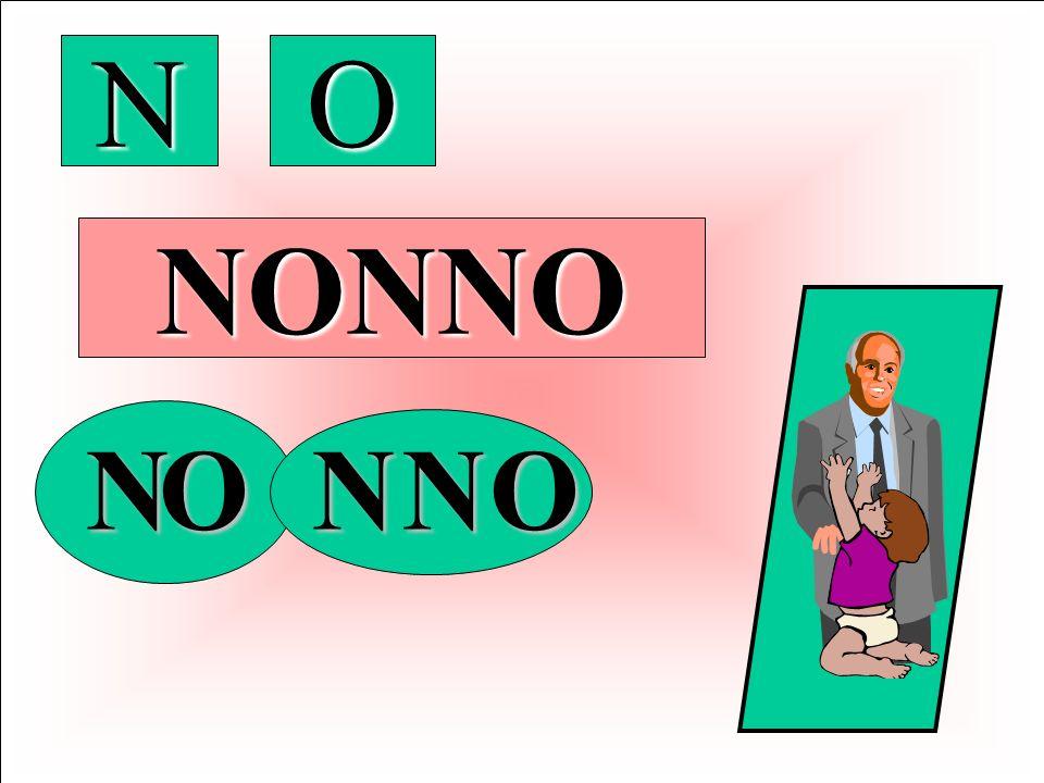 ora si presenta il suono N utilizzando la parola N O N N O anchessa ben nota al bambino Per linsegnante Ciò consentirà di preparare la successiva nuov