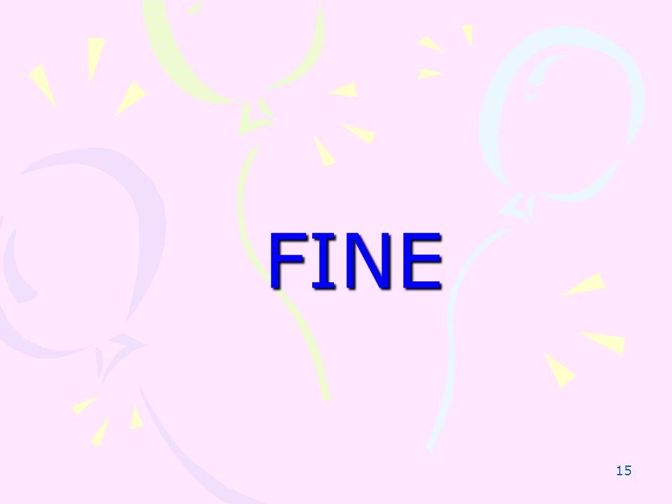 15 FINE