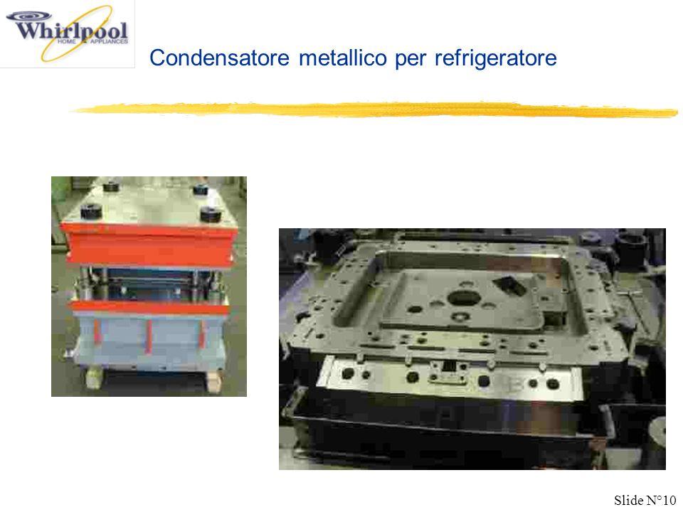 Slide N°10 Condensatore metallico per refrigeratore