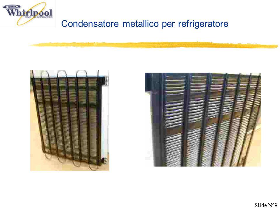 Slide N°9 Condensatore metallico per refrigeratore
