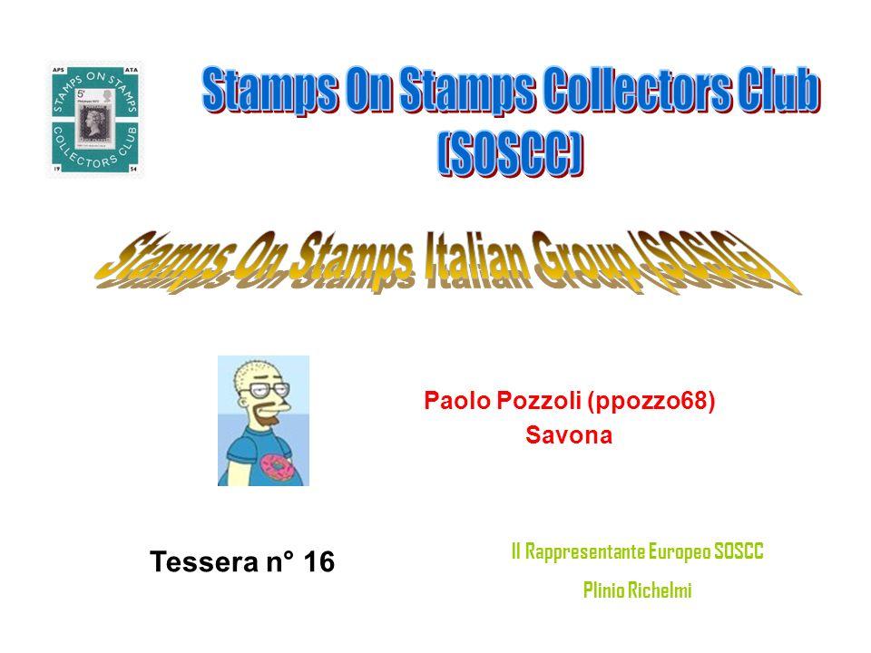 Paolo Pozzoli (ppozzo68) Savona Tessera n° 16 Il Rappresentante Europeo SOSCC Plinio Richelmi