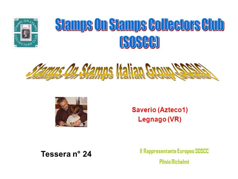 Saverio (Azteco1) Legnago (VR) Tessera n° 24 Il Rappresentante Europeo SOSCC Plinio Richelmi