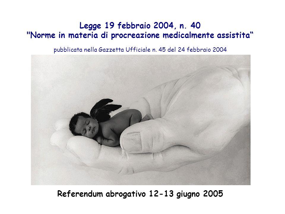 Legge 19 febbraio 2004, n. 40