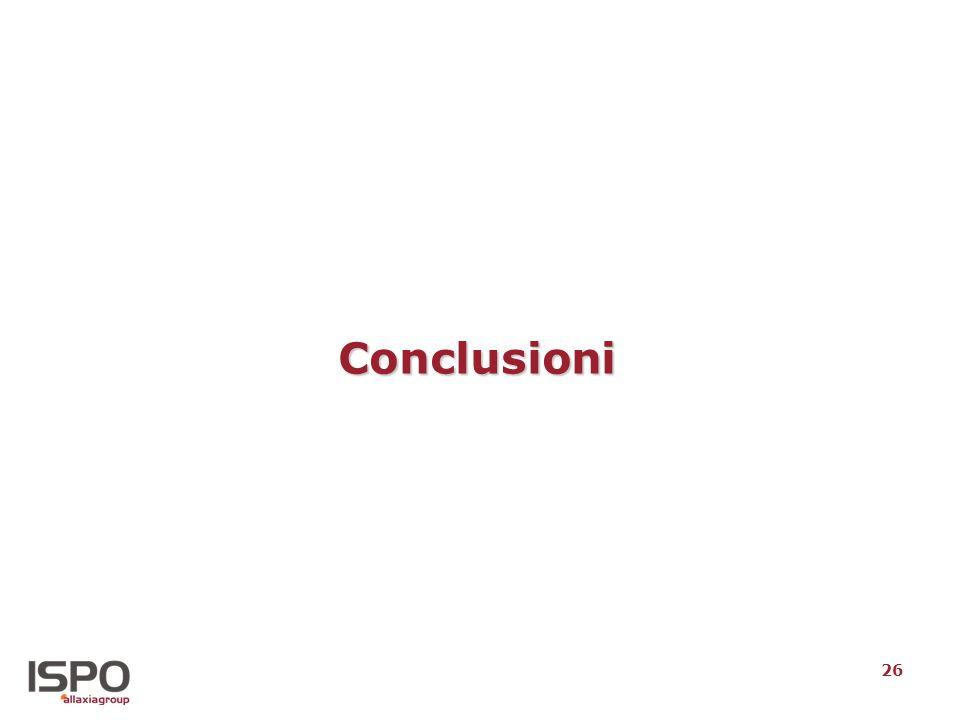 26 Conclusioni