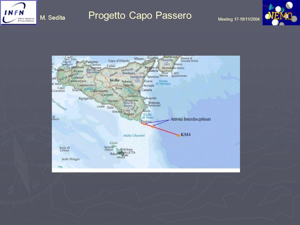 M. Sedita Progetto Capo Passero Meeting 17-19/11/2004