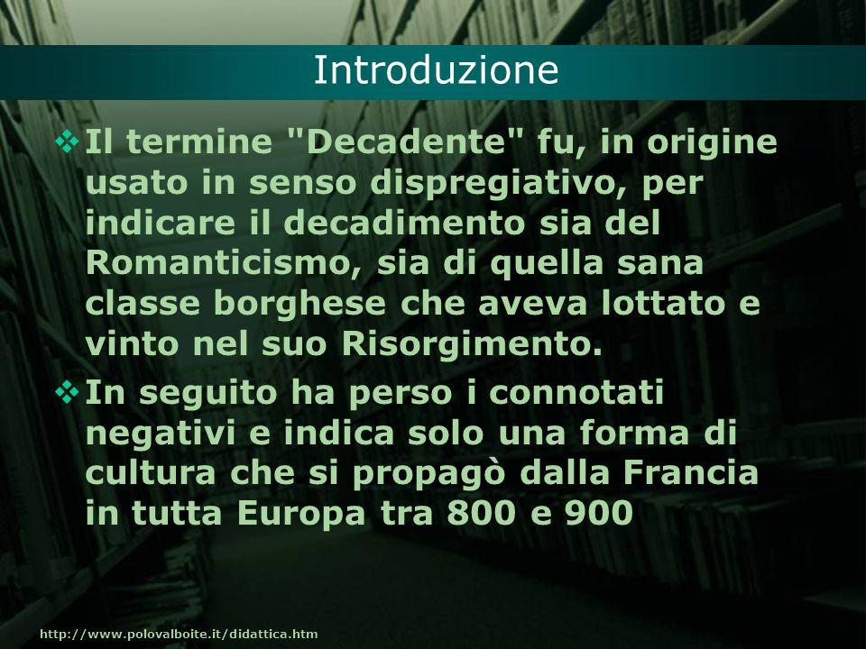http://www.polovalboite.it/didattica.htm Introduzione Il termine