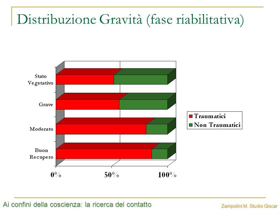 Ai confini della coscienza: la ricerca del contatto Zampolini M. Studio Giscar Distribuzione Gravità (fase riabilitativa)
