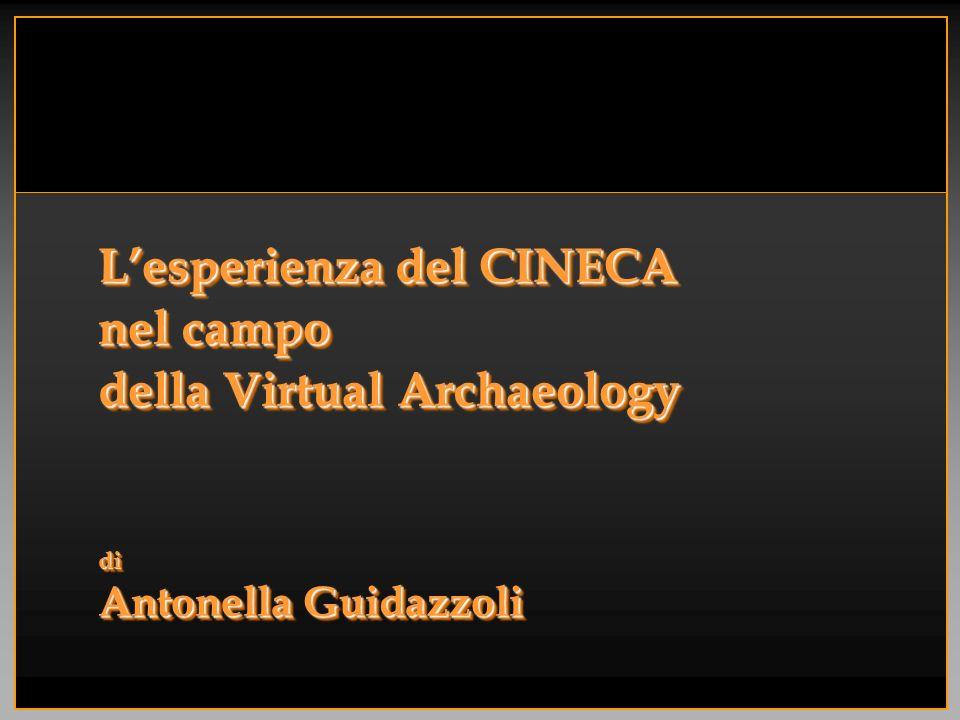 SommarioSommario Realtà Virtuale e Archeologia Il Vis.I.T.