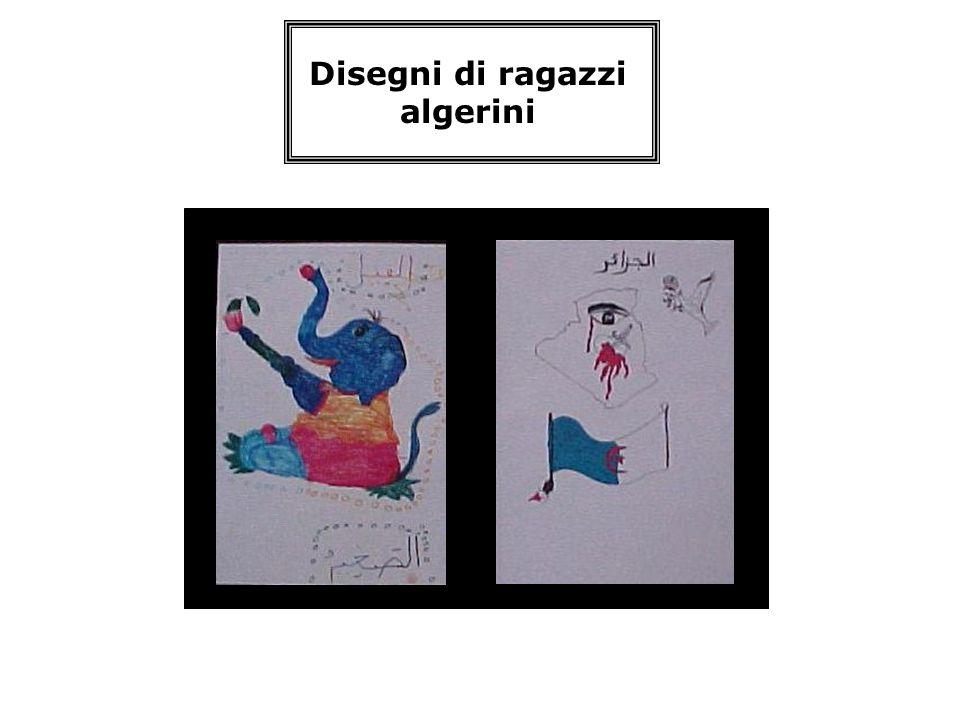 Disegni di ragazzi algerini