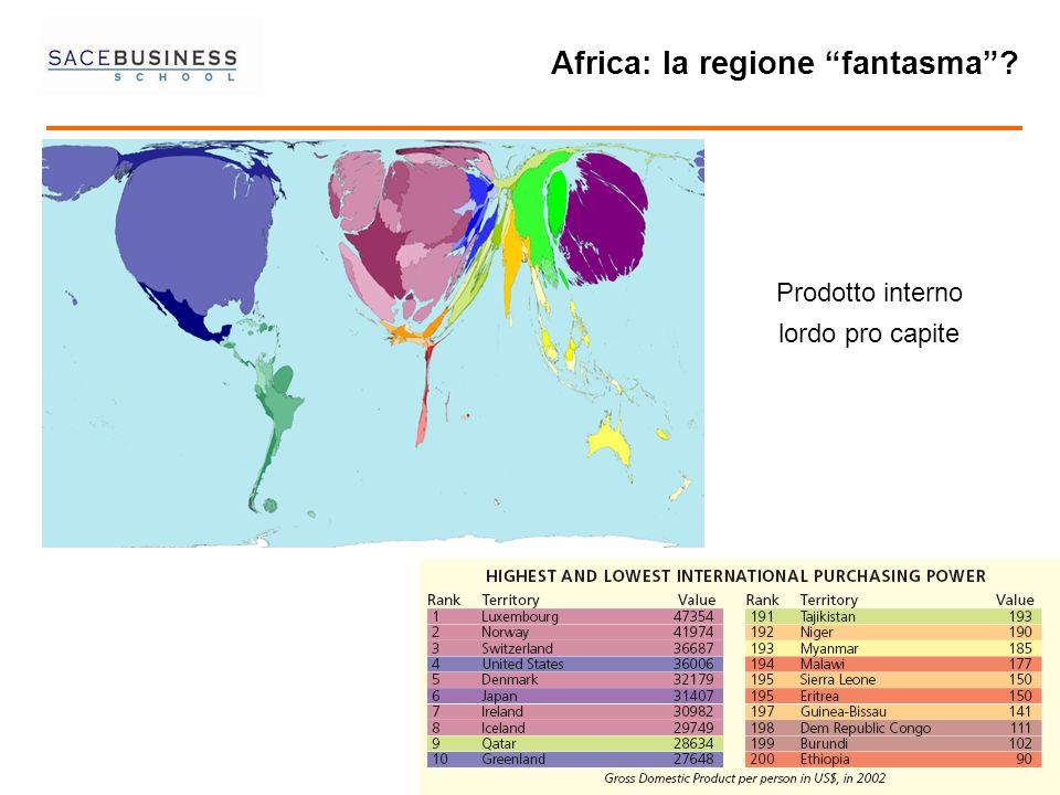 22 2 Prodotto interno lordo pro capite Africa: la regione fantasma?