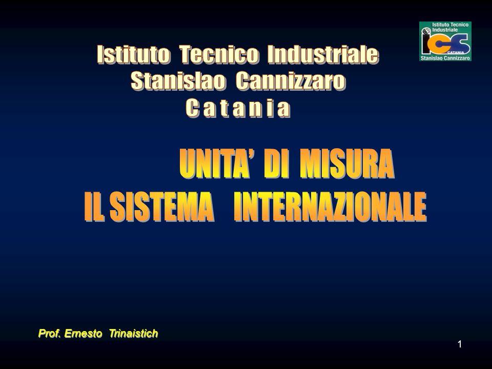 1 Prof. Ernesto Trinaistich