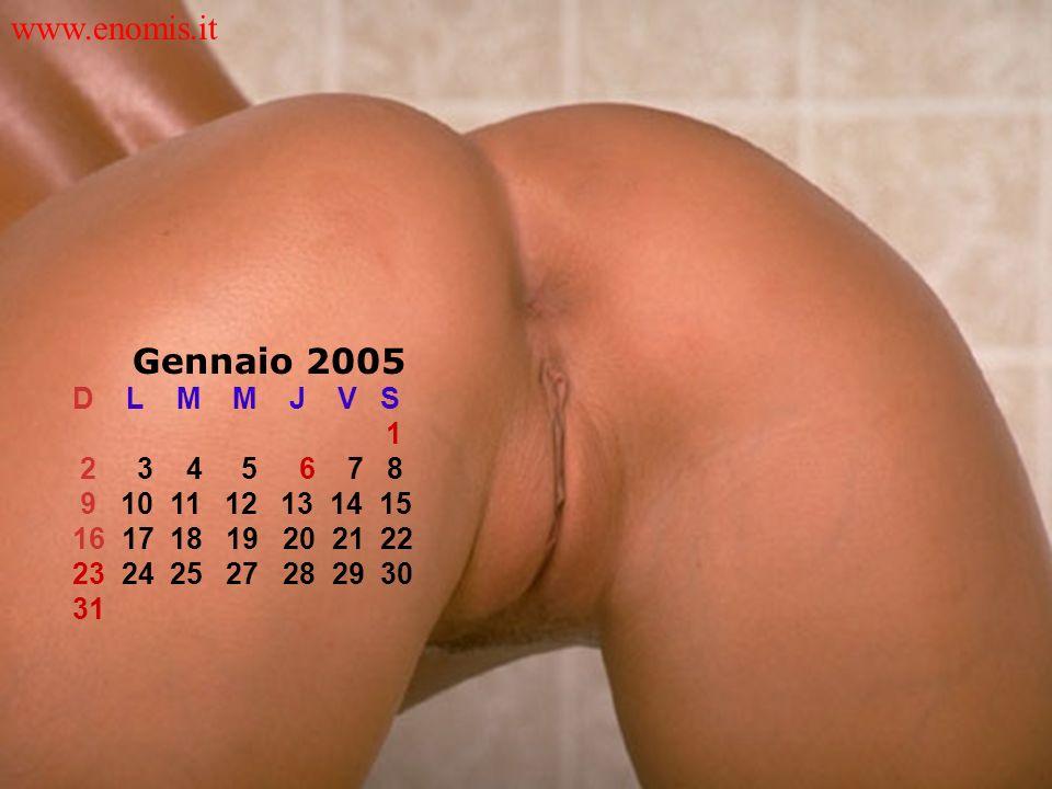 Gennaio 2005 D L M M J V S 1 2 3 4 5 6 7 8 9 10 11 12 13 14 15 16 17 18 19 20 21 22 23 24 25 27 28 29 30 31 www.enomis.it