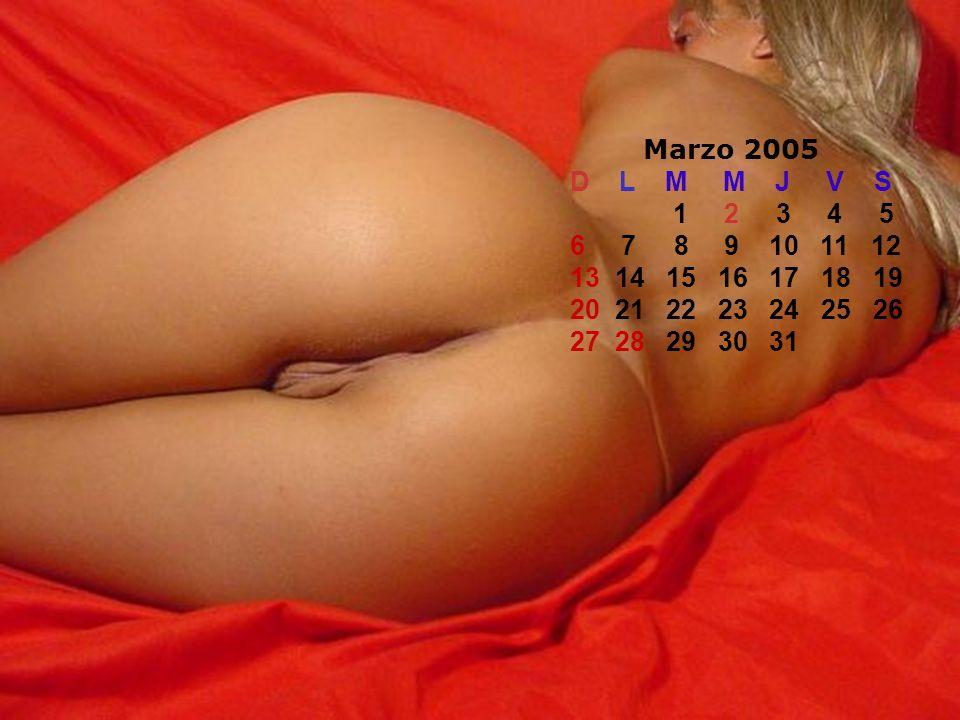 Marzo 2005 D L M M J V S 1 2 3 4 5 6 7 8 9 10 11 12 13 14 15 16 17 18 19 20 21 22 23 24 25 26 27 28 29 30 31
