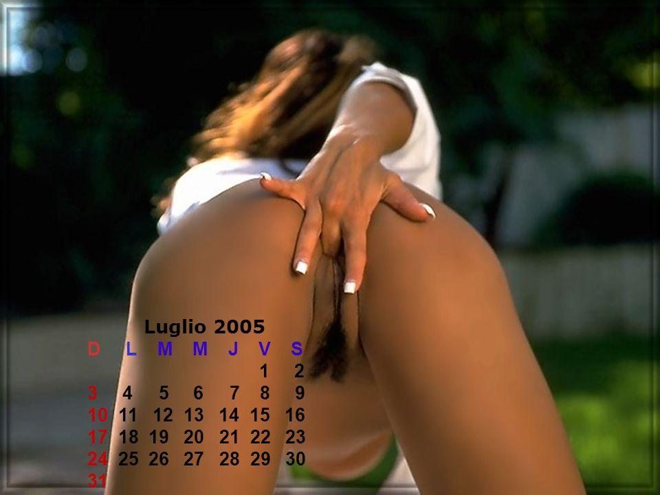 Luglio 2005 D L M M J V S 1 2 3 4 5 6 7 8 9 10 11 12 13 14 15 16 17 18 19 20 21 22 23 24 25 26 27 28 29 30 31