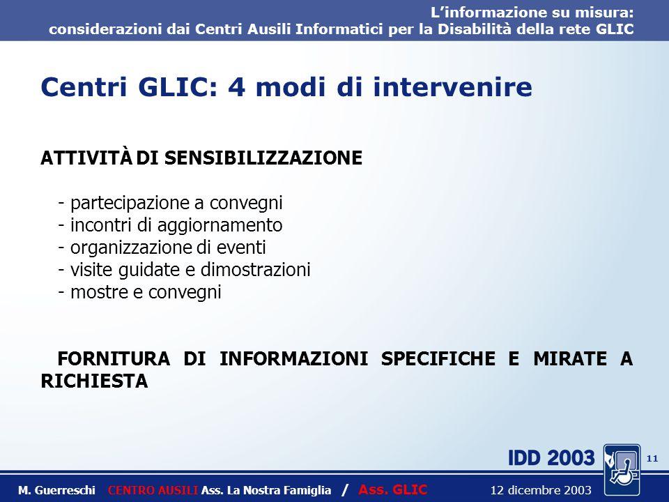 10 Titolo intervento M. Guerreschi CENTRO AUSILI Ass.