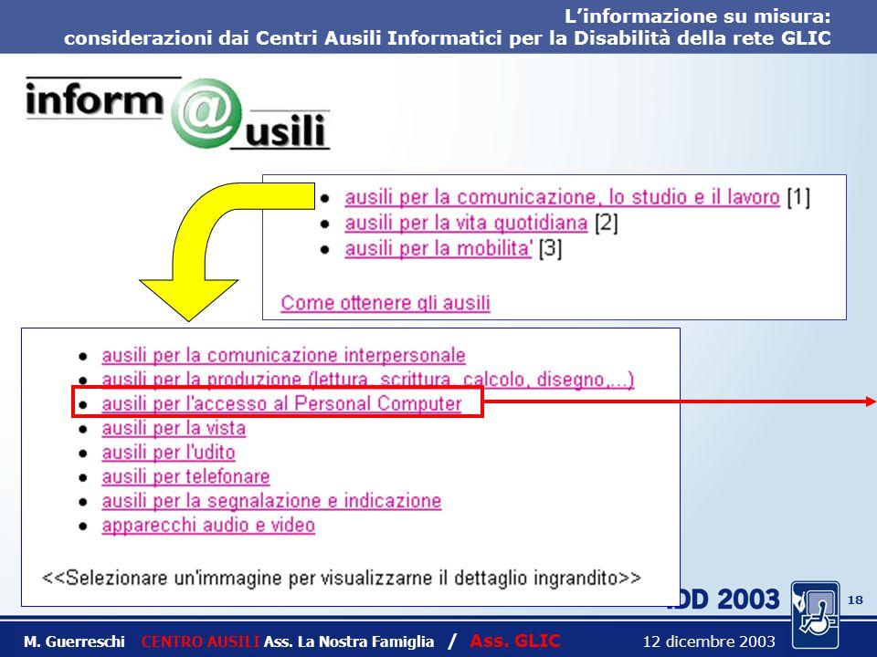 17 Titolo intervento M. Guerreschi CENTRO AUSILI Ass.