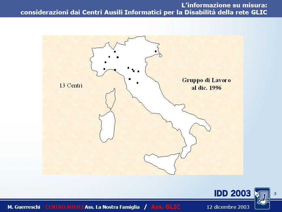 2 Titolo intervento M. Guerreschi CENTRO AUSILI Ass.