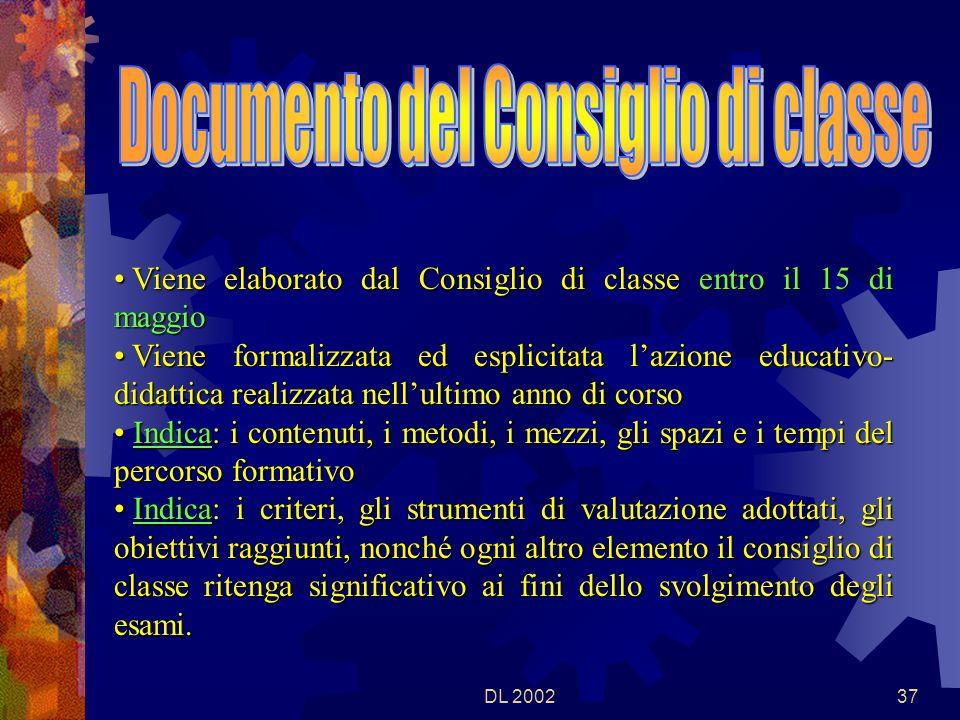 DL 200236 Il Dirigente scolastico comunica al Direttore Generale regionali (mod.