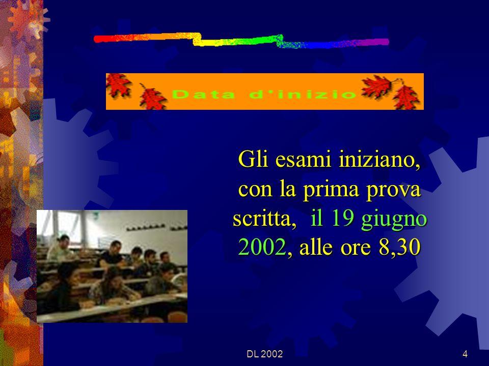 DL 20023 Chiudono il corso degli studi delle scuole secondarie superiori, con un ricono- scimento di titolo, garantito dalla Legge.