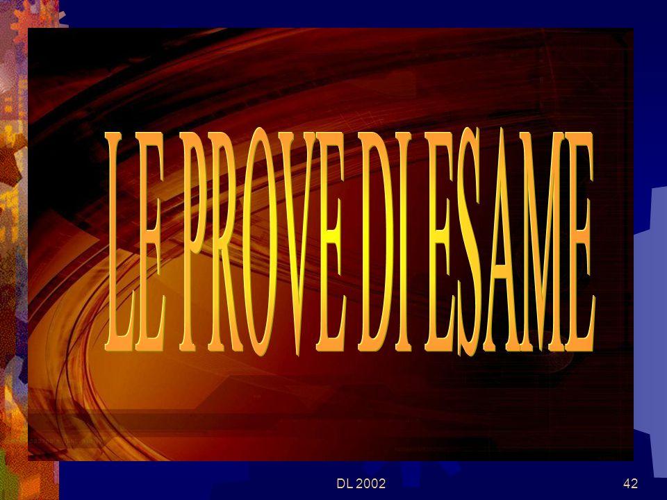 DL 200241 In caso di non superamento dellesame di Stato, lesito positivo dellesame preliminare vale come idoneità allultima classe Per il candidato, ammesso allesame di Stato, che non si presenti allo stesso o che non lo superi, lesame preliminare – a giudizio del consiglio di classe o della commissione – può valere quale idoneità ad una delle classi precedenti lultima.