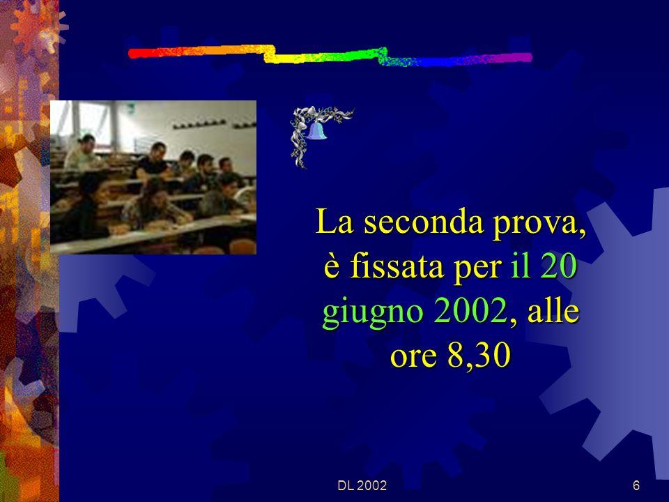 DL 200266 IL PUNTEGGIO COMPLESSIVO DELLE PROVE SCRITTE E UFFICIALIZZATO ALLALBO ALMENO DUE GIORNI PRIMA DELLINIZIO DEI COLLOQUI FISSATI PER LA CLASSE.