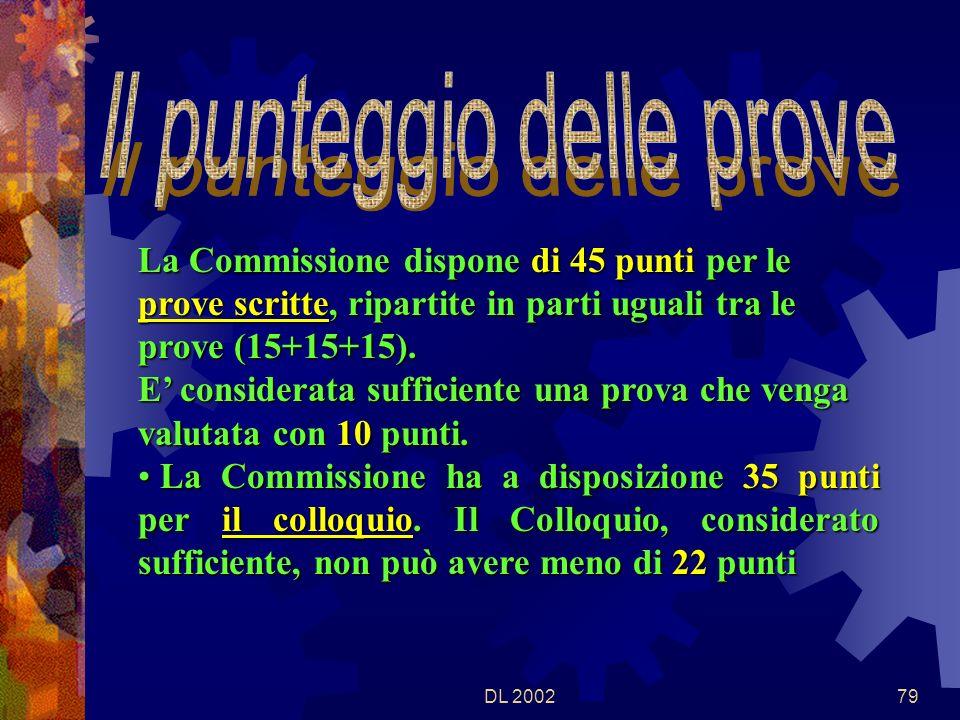 DL 200278 LA COMMISSIONE può predisporre PROVE DIFFERENZIATE, coerenti con il percorso svolto, finalizzate solo al RILASCIO DELL ATTESTAZIONE