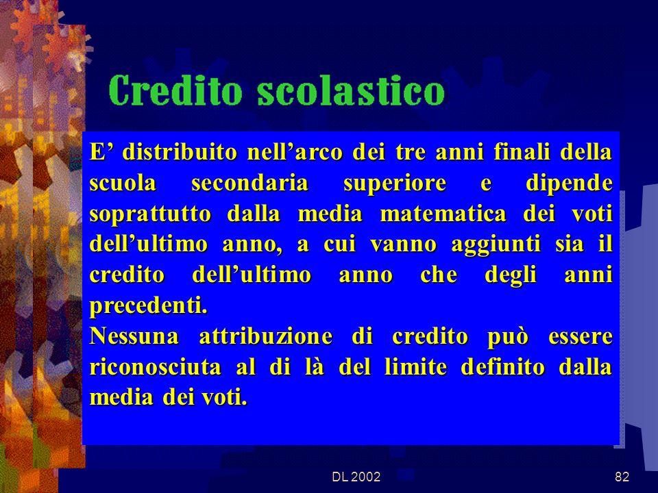 DL 200281 Valgono le disposizioni di cui al D.M. 24.2.2000, n.