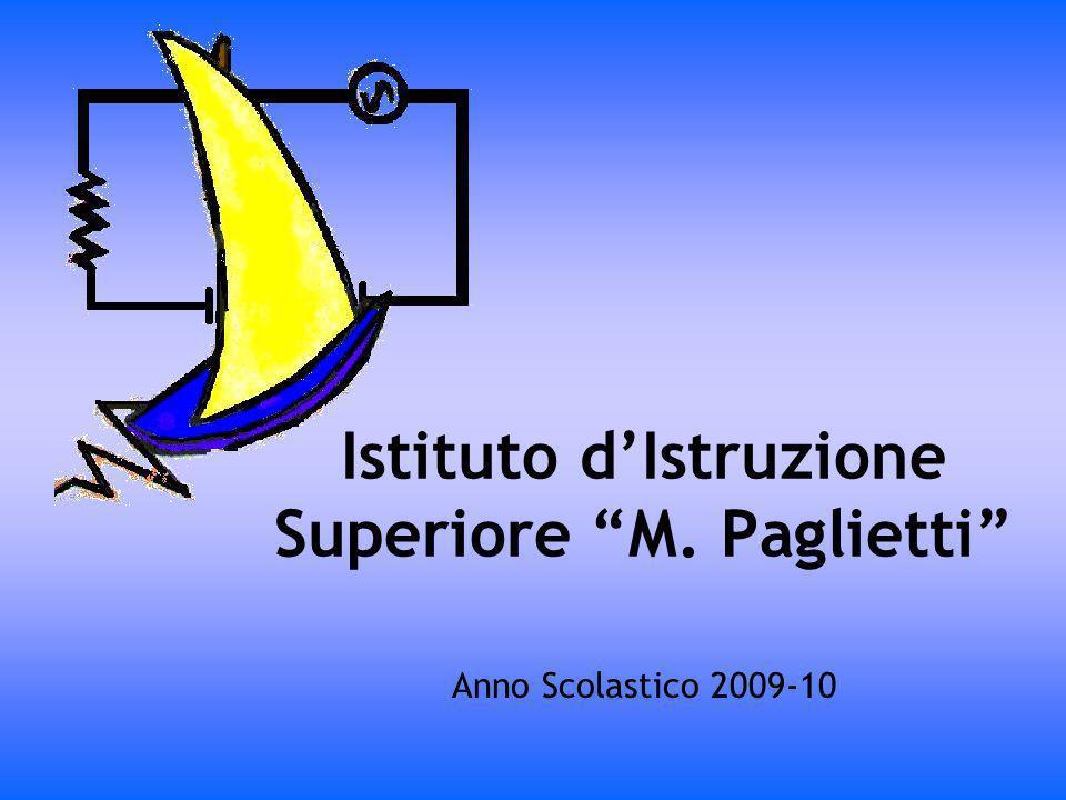 Istituto dIstruzione Superiore M. Paglietti Anno Scolastico 2009-10