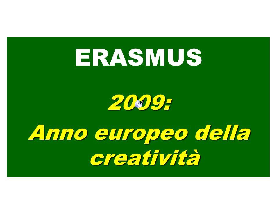 ERASMUS2009: Anno europeo della creatività