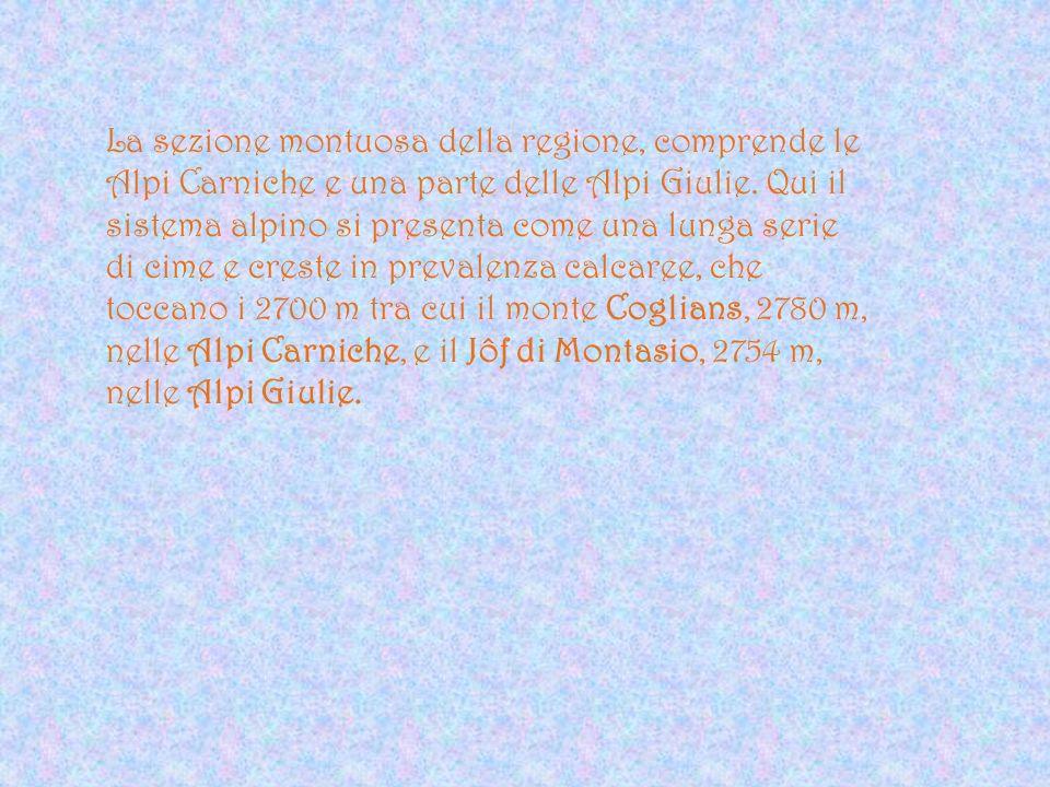 Nome e stemma Friuli deriva da forum julii, mercato di Giulio Cesare.