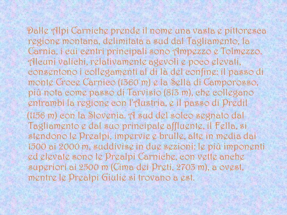 Statuto Speciale Per la sua posizione geografica e per il fatto che la sua popolazione è costituita da gente con tradizioni e lingue diverse, il Friuli - Venezia Giulia nel 1963 ha ottenuto lo statuto speciale.