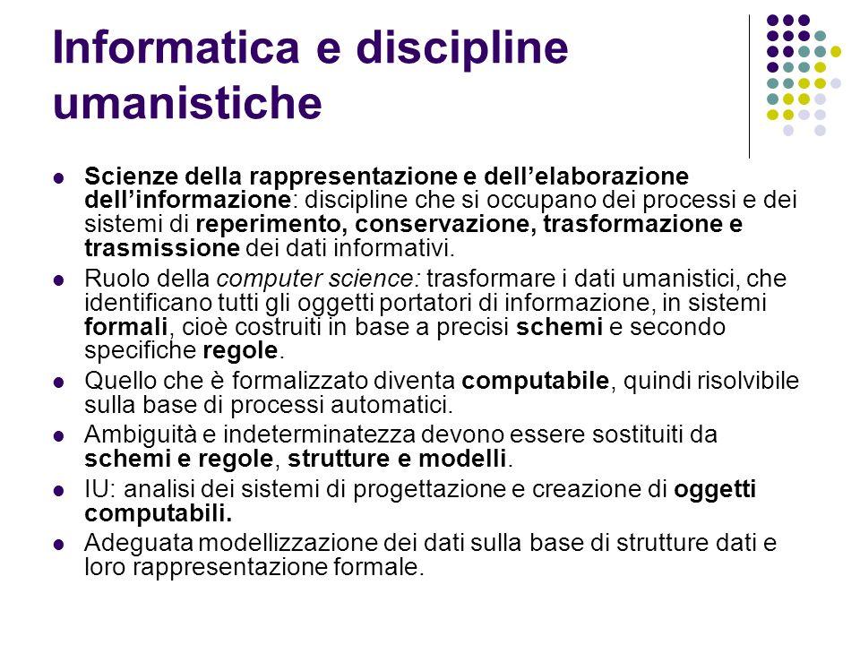 Il Frontespizio elettronico Ogni testo TEI ha una testata che offre informazioni analoghe a quelle fornite dal frontespizio di un testo a stampa.