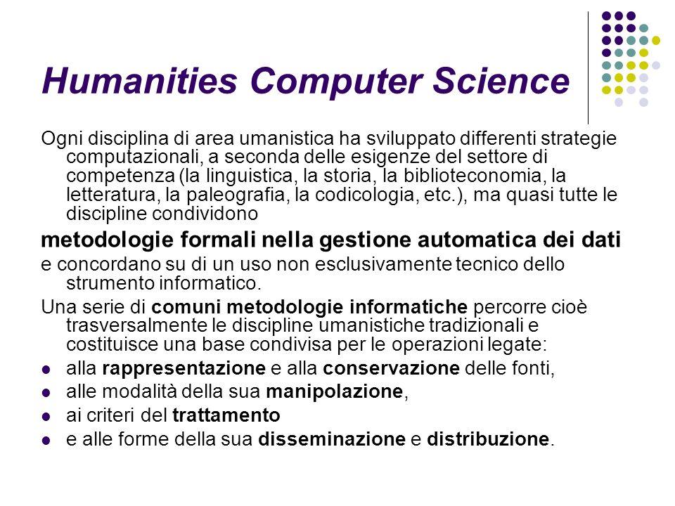 Alle origini: la linguistica computazionale Prime sperimentazioni disciplinari: tentativo di automatizzare procedimenti manuali di estrazione di parole da corpora di dati.