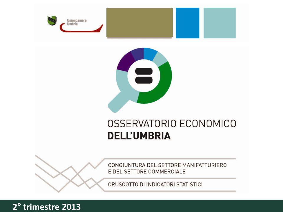 Conferenza stampa Camera di CommerCio di Perugia 24 settembre 2012 Congiuntura del settore manifatturiero e del settore CommerCiale CrusCotto di indiCatori statistiCi Osservatorio economico dellUmbria 2° trimestre 2013