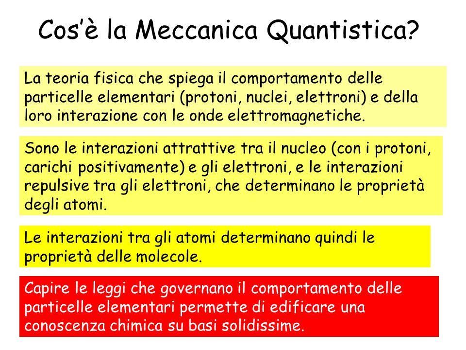 Cosè la Meccanica Quantistica? La teoria fisica che spiega il comportamento delle particelle elementari (protoni, nuclei, elettroni) e della loro inte