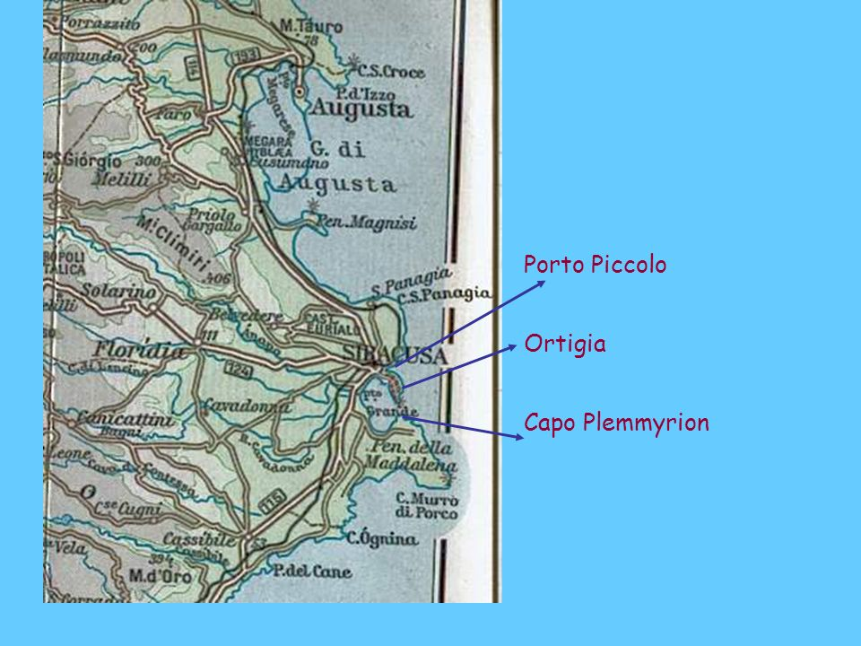 Ortigia Capo Plemmyrion Porto Piccolo