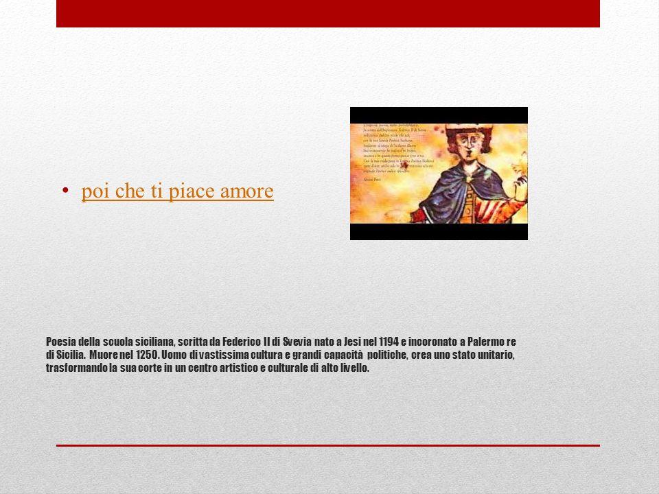 compito 1- Dopo aver ascoltato il video – versione in volgare toscano – fai la parafrasi della poesia 2- A chi si rivolge inizialmente il poeta.