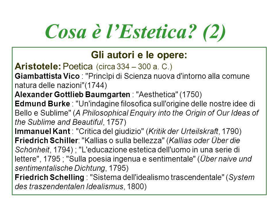Il primo problema: b) arte come creazione Accenno alla filosofia di Hegel (così anche Croce e Gentile).