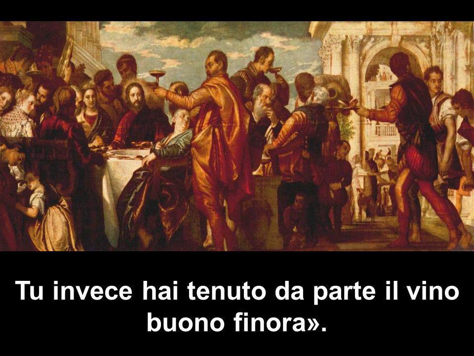 Matteo 3,1-12 Tu invece hai tenuto da parte il vino buono finora».