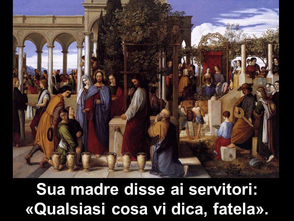 Matteo 3,1-12 Sua madre disse ai servitori: «Qualsiasi cosa vi dica, fatela».